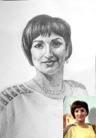 Портрет олівцем по фотографії. Замовити портрет олівцем на папері_10