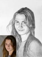 Портрет олівцем по фотографії. Замовити портрет олівцем на папері_11