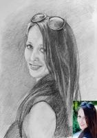 Портрет олівцем по фотографії. Замовити портрет олівцем на папері_13