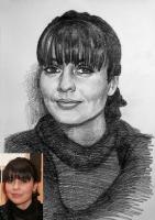 Портрет олівцем по фотографії. Замовити портрет олівцем на папері_18
