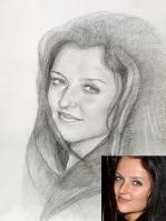 Портрет олівцем по фотографії. Замовити портрет олівцем на папері_22