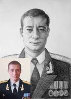 Портрет олівцем по фотографії. Замовити портрет олівцем на папері_24