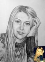 Портрет олівцем по фотографії. Замовити портрет олівцем на папері_26