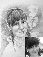 Портрет олівцем по фотографії. Замовити портрет олівцем на папері_31