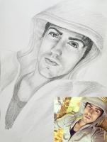 Портрет олівцем по фотографії. Замовити портрет олівцем на папері_32