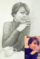 Портрет олівцем по фотографії. Замовити портрет олівцем на папері_33