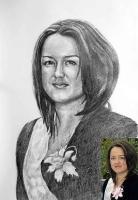 Портрет олівцем по фотографії. Замовити портрет олівцем на папері_35