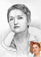 Портрет олівцем по фотографії. Замовити портрет олівцем на папері_36