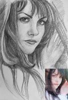 Портрет олівцем по фотографії. Замовити портрет олівцем на папері_38