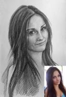 Портрет олівцем по фотографії. Замовити портрет олівцем на папері_40