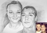 Портрет олівцем по фотографії. Замовити портрет олівцем на папері_43