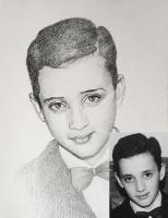 Портрет олівцем по фотографії. Замовити портрет олівцем на папері_44