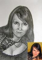Портрет олівцем по фотографії. Замовити портрет олівцем на папері_4