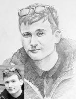 Портрет олівцем по фотографії. Замовити портрет олівцем на папері_8
