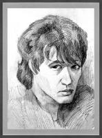 Портрет олівцем по фотографії. Замовити портрет олівцем на папері_9