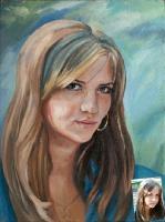 Portrait oil on canvas_11