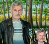 Portrait oil on canvas_12