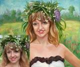 Portrait oil on canvas_14