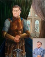 Portrait oil on canvas_18