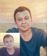 Portrait oil on canvas_19