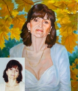 Portrait oil on canvas_20