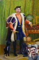 Portrait oil on canvas_21