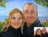 Portrait oil on canvas_22