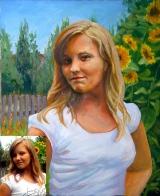 Portrait oil on canvas_27