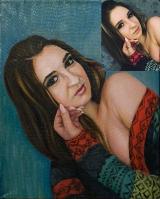 Portrait oil on canvas_28
