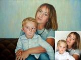 Portrait oil on canvas_29