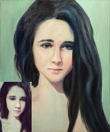 Portrait oil on canvas_33