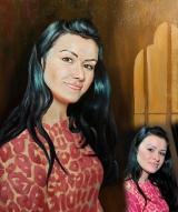 Portrait oil on canvas_34