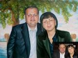 Portrait oil on canvas_35