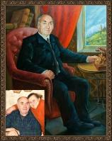 Portrait oil on canvas_36