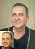 Portrait oil on canvas_37