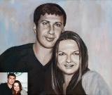 Portrait oil on canvas_38