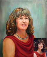 Portrait oil on canvas_39