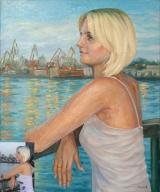 Portrait oil on canvas_40