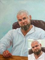 Portrait oil on canvas_46