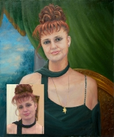 Portrait oil on canvas_48