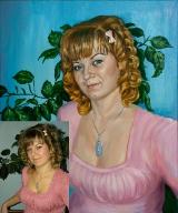 Portrait oil on canvas_50