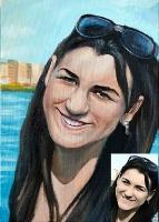 Portrait oil on canvas_8