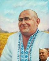 Portrait oil on canvas_9